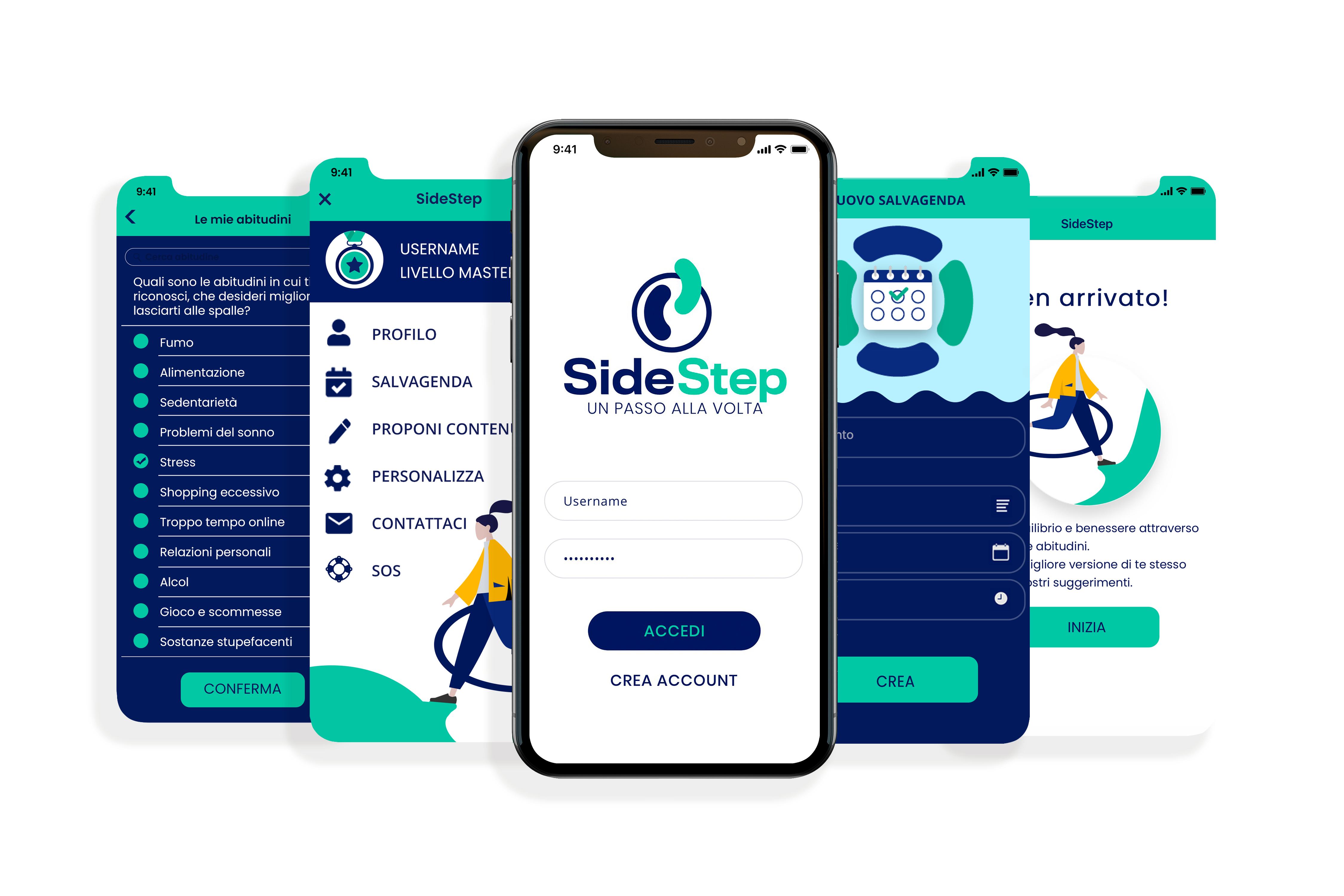 sidestep-app-migliora abitudini